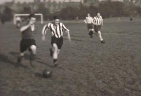 Ivan Petcher in Football Action
