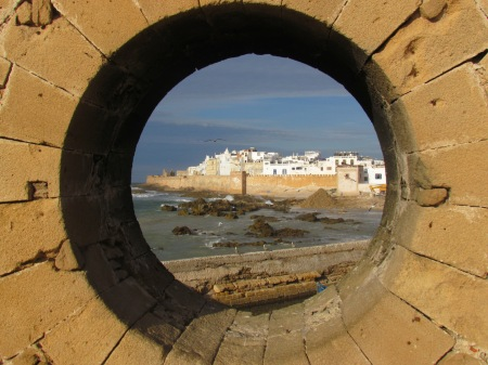 Essaouira Through A Stone Window