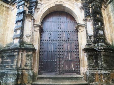 Ronda Cathedral Door