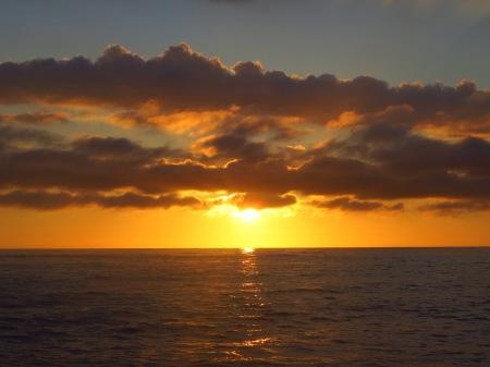 Wales Borth Sunset
